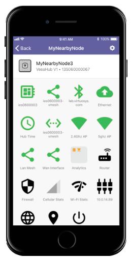 Veea Mobile Interface